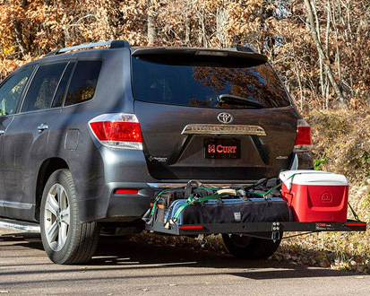 Cargo Rack Mounted from back of vehicle